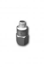 Akcelelometryczny czujnik drgań z wbudowanym z czujnikiem temperatury, czułość: 100mV/g