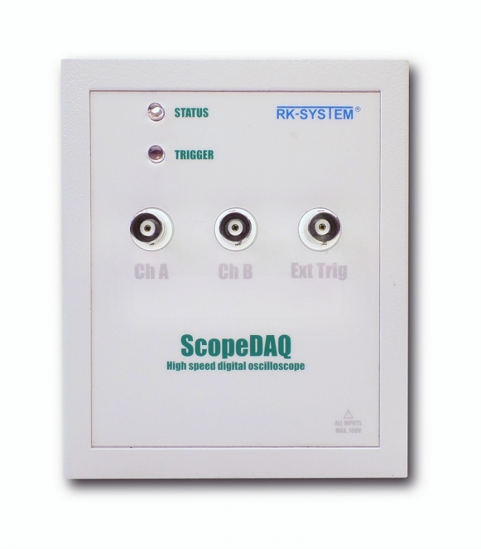 Oscyloskopy, analizatory stanów ScopeDAQ 12