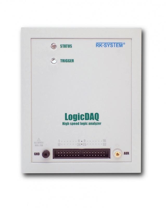 Oscyloskopy, analizatory stanów LogicDAQ: dane techniczne