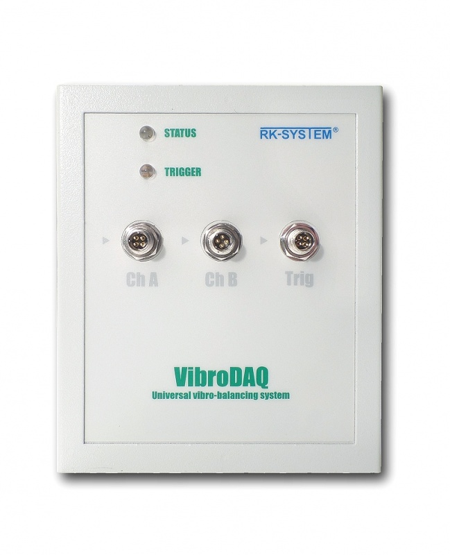 Wyważanie dynamiczne Wyważarka VibroDAQ LT - produkcja zakończona, przyrząd niedostępny