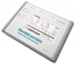 Wyważanie dynamiczne Wyważarka VibroDAQ portable: widoki ekranu