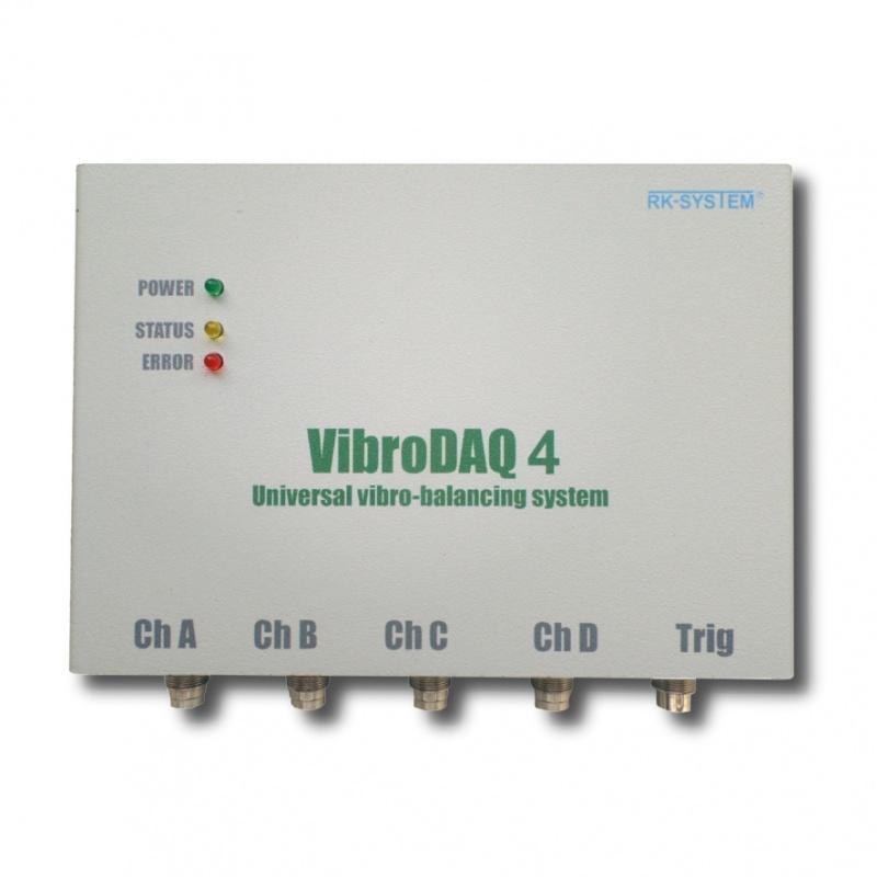 Wyważanie dynamiczne VibroDAQ 4